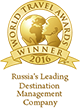Olta Travel World Travel Awards Nominee