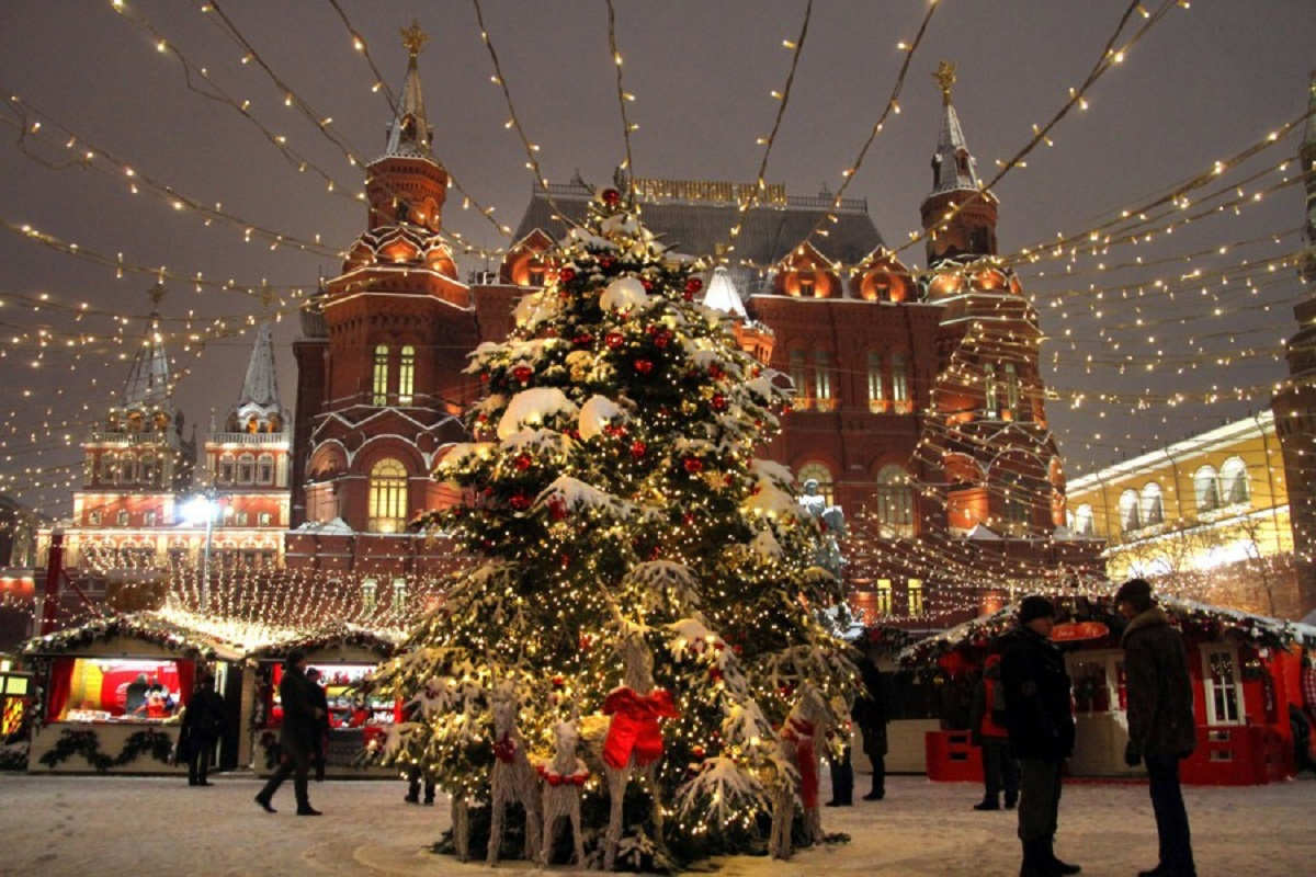 russian christmas festival in moscow are you up for it